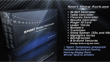 VIDEOHIVE BROADCAST SPORT SHOW FREE DOWNLOAD - Free After Effects ...