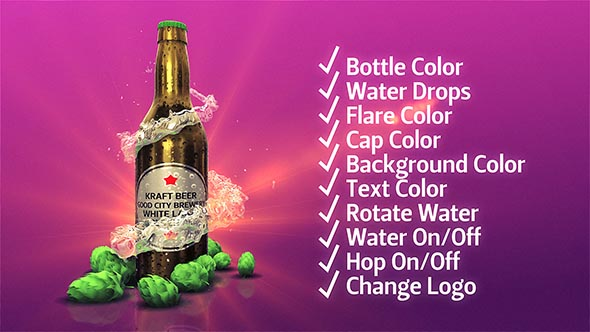 VIDEOHIVE BEER KIT FREE AFTER EFFECTS TEMPLATE