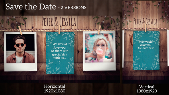 VIDEOHIVE SAVE THE DATE 21756274