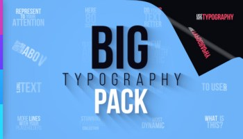VIDEOHIVE BIG PACK OF ELEMENTS FREE DOWNLOAD - Free After