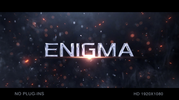 VIDEOHIVE PARTICLE TRAILER TITLES