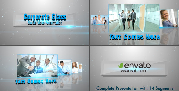 VIDEOHIVE CORPORATE GLASS PRESENTATION