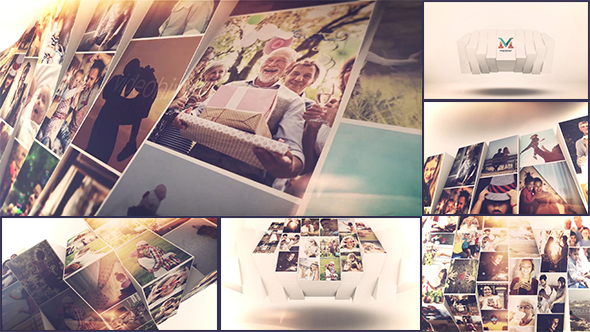 VIDEOHIVE PHOTO MOSAIC SLIDESHOW 21428443