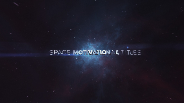 VIDEOHIVE SPACE MOTIVATIONAL TITLES