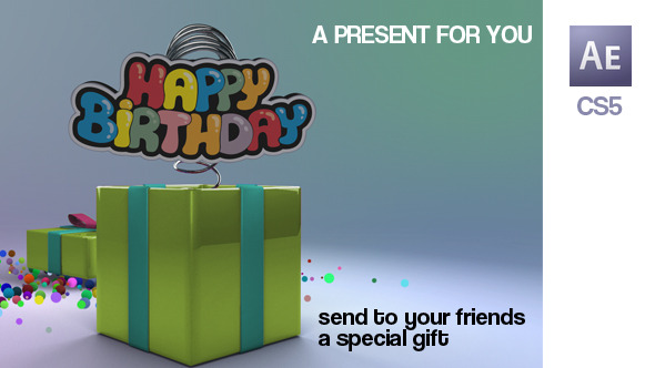 VIDEOHIVE A PRESENT FOR YOU