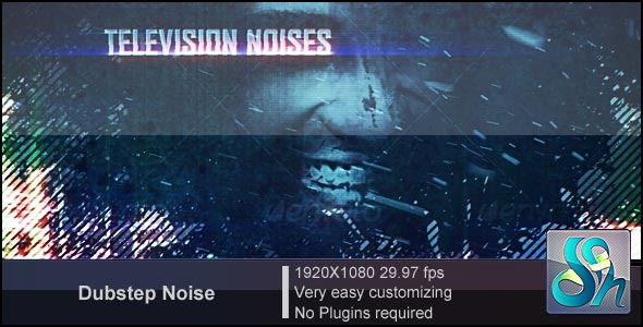 VIDEOHIVE DUB STEP TELEVISION NOISE