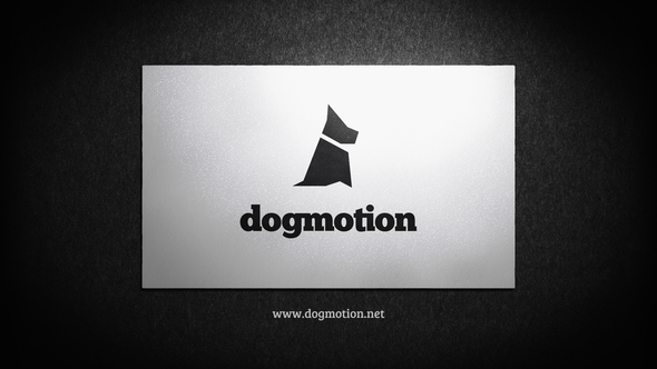 VIDEOHIVE BUSINESS CARD – CORPORATE LOGO REVEAL