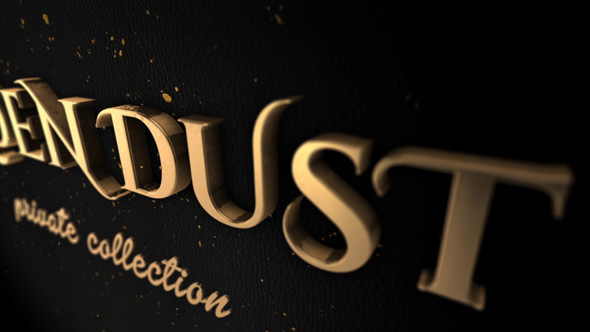 VIDEOHIVE GOLDEN DUST