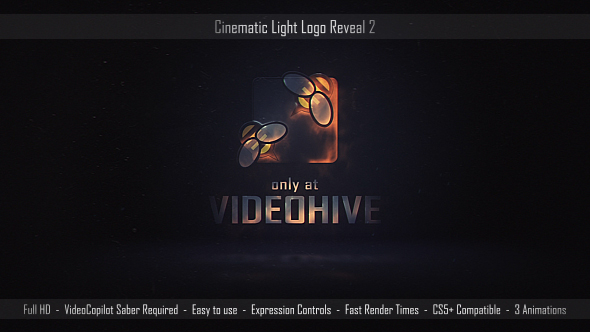VIDEOHIVE CINEMATIC LIGHT LOGO REVEAL 2