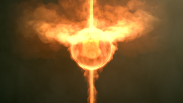 VIDEOHIVE FIREBALL LOGO REVEAL