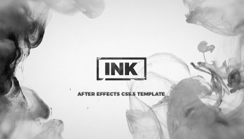 Ink Slideshow - After Effects 64302 - Free After Effects Template