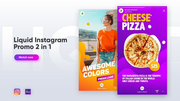VIDEOHIVE LIQUID INSTAGRAM PROMO 2 IN 1