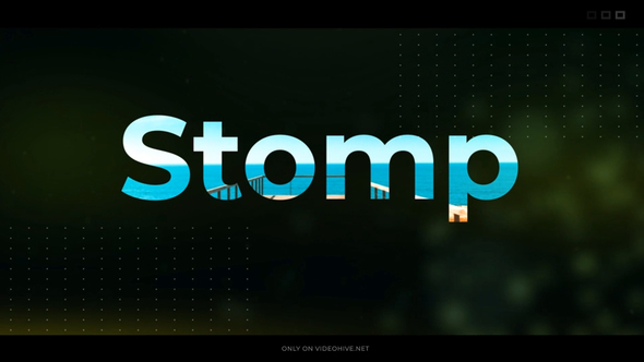 VIDEOHIVE STOMP INTRO 21905324