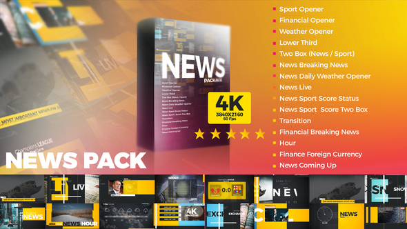 VIDEOHIVE NEWS PACK