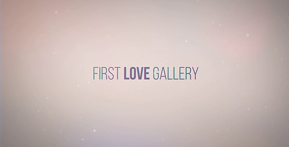 VIDEOHIVE FIRST LOVE GALLERY