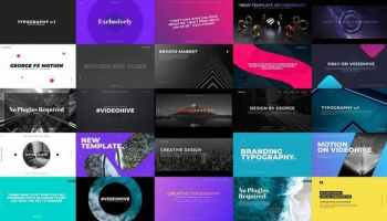 VIDEOHIVE KINETIC TYPOGRAPHY - PREMIERE PRO - Free After