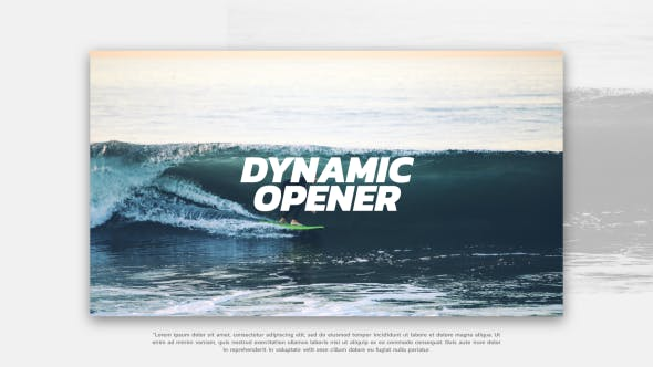 VIDEOHIVE DYNAMIC OPENER 21426274