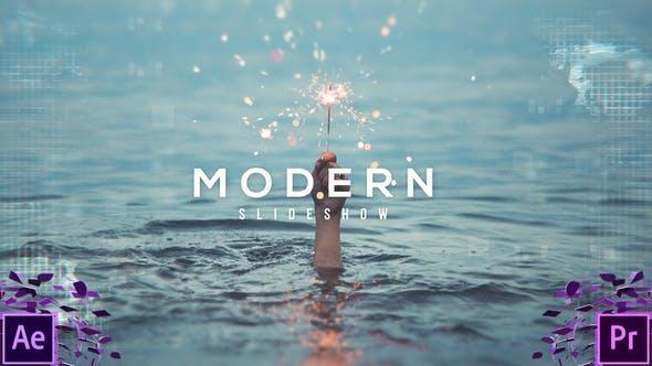 VIDEOHIVE MODERN DIGITAL SLIDESHOW - PREMIERE PRO
