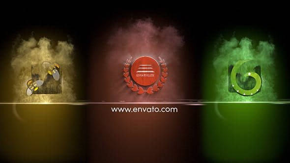 VIDEOHIVE COLORFUL PARTICLES LOGO REVEAL