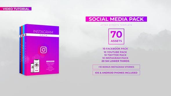 VIDEOHIVE SOCIAL MEDIA PACK