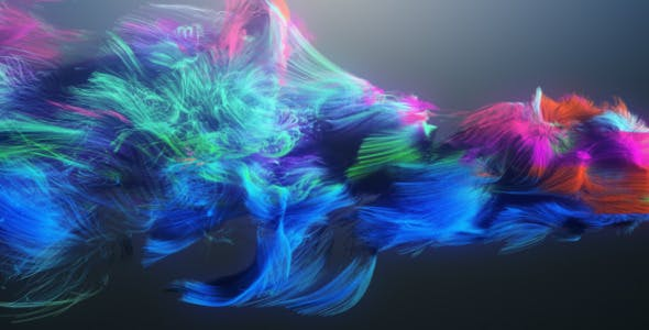 VIDEOHIVE COLORFUL PARTICLES LOGO REVEAL 408263