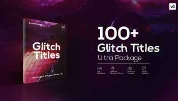 VIDEOHIVE GLITCH TRANSITION 4K - MOTION GRAPHIC - Free After Effects