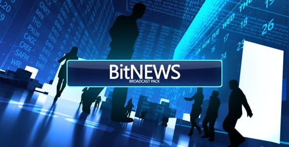 VIDEOHIVE BITNEWS (BROADCAST PACK)