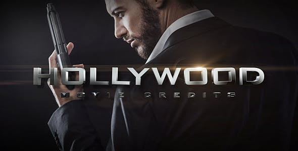 VIDEOHIVE HOLLYWOOD MOVIE CREDITS