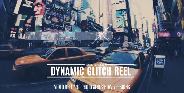 VIDEOHIVE DYNAMIC GLITCH REEL 14176676
