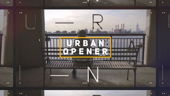 VIDEOHIVE URBAN OPENER / DYNAMIC SLIDESHOW / HIP-HOP LIFESTYLE / CITIES AND STREETS