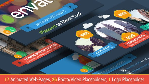 VIDEOHIVE ECOMMERCE WEBSITE PRICE PRESENTER