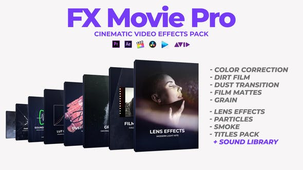 VIDEOHIVE FX MOVIE PRO PACK – PREMIERE PRO & AFTER EFFECTS