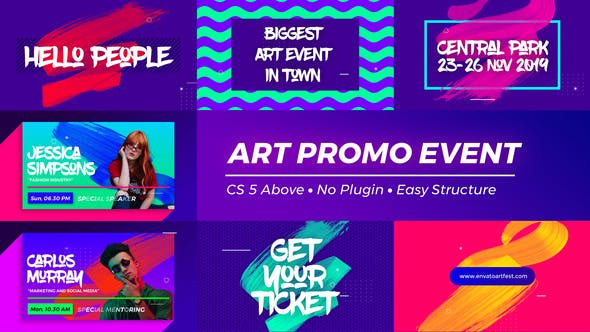 VIDEOHIVE ART PROMO EVENT