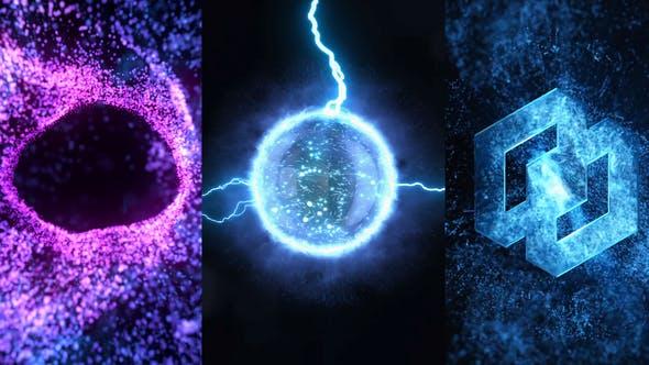 VIDEOHIVE ENERGY VORTEX LOGO REVEAL