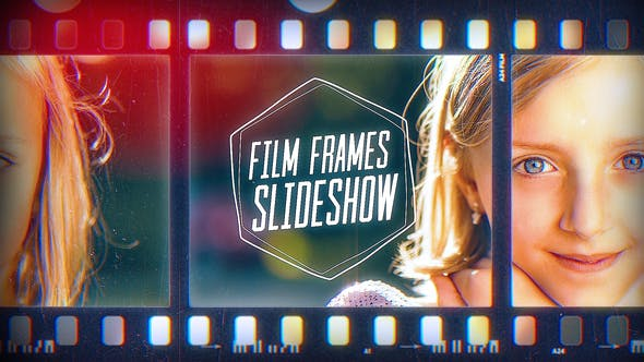 VIDEOHIVE FILM FRAMES SLIDESHOW
