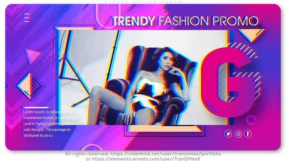 VIDEOHIVE TRENDY FASHION SLIDES