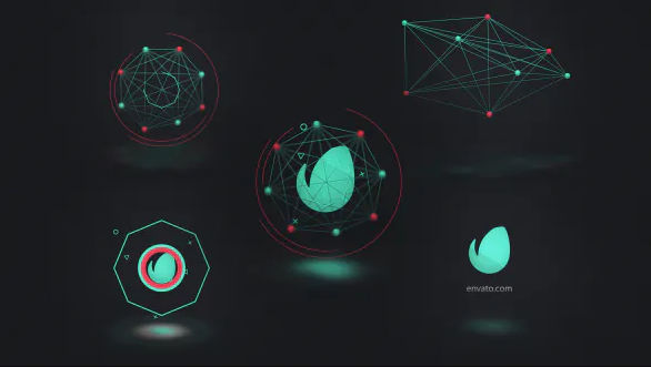 CONNECTED SHAPES LOGO REVEAL