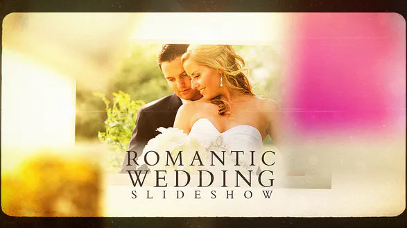 Romantic Wedding Slideshow