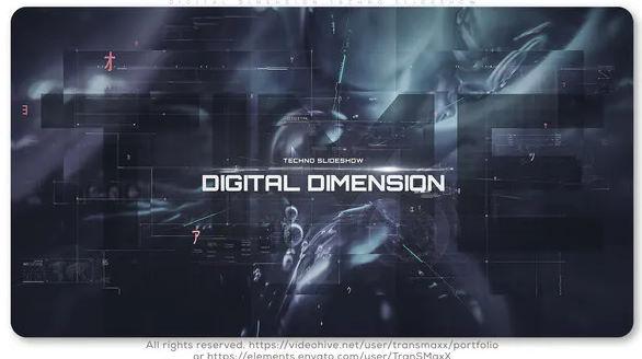 DIGITAL DIMENSION TECHNO SLIDESHOW