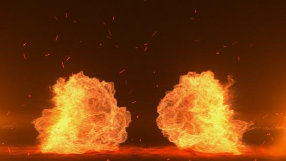 Explosion Logo Reveal