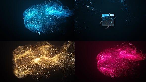 Elegant Particle Logo