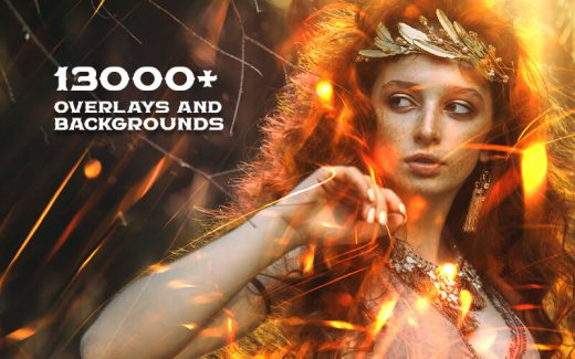 The Supermassive Bundle Of 13,000+ Overlays And Backgrounds