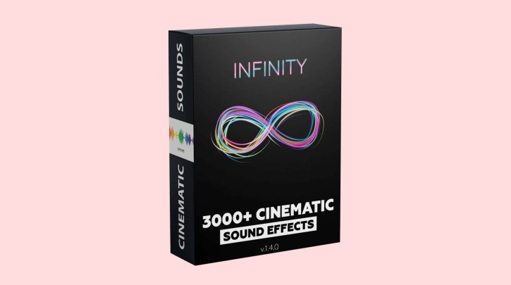 Infinity 3000+ Cinematic Sound Effects