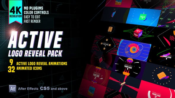Active Logo Reveal Pack