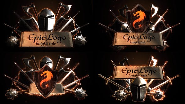 Epic Battle Modular Logo Reveals