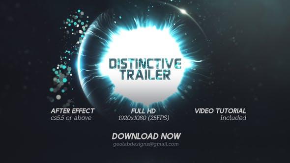 Distinctive Cinematic Trailer