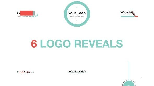 Logo Reveal Pack Flat Style