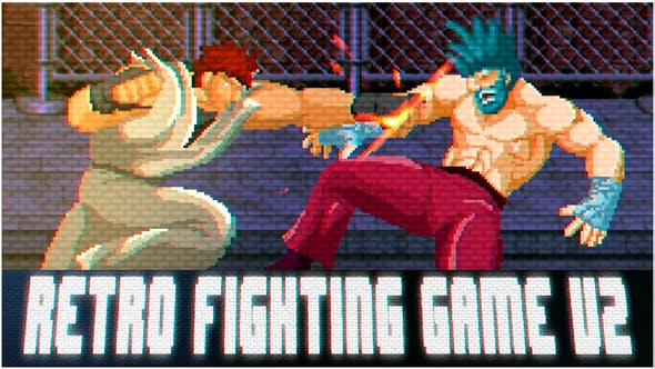 Retro Fighting Game V2