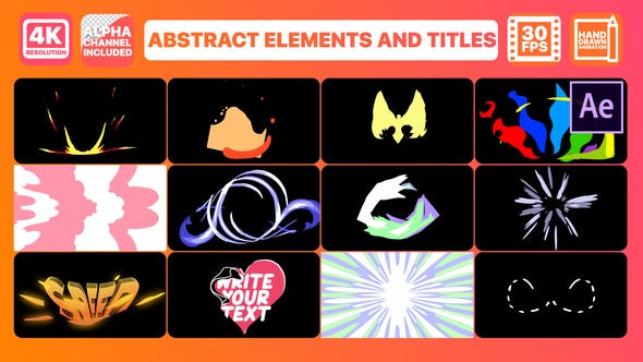 Abstract Elements And Titles