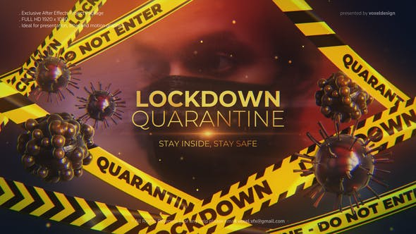 Lockdown Quarantine Cinematic Title